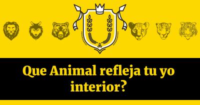 Que Animal refleja tu yo interior?