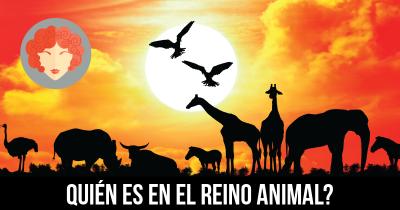 Quién es en el Reino Animal?