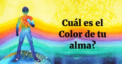 Cuál es el Color de tu alma?
