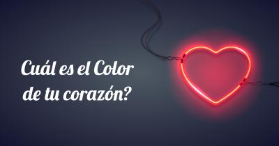 Cuál es el Color de tu corazón?