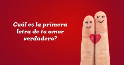 Cuál es la primera letra de tu amor verdadero?