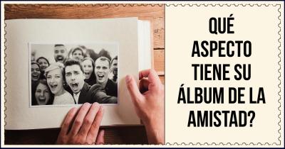 Qué aspecto tiene su álbum de la amistad?