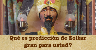 Qué es predicción de Zoltar gran para usted?
