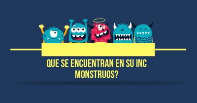 Que se encuentran en su Inc monstruos?