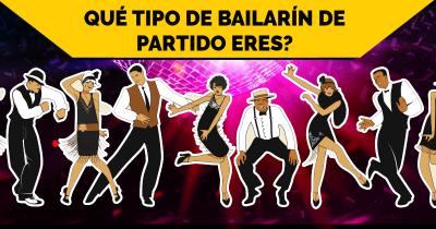 Qué tipo de bailarín de partido eres?