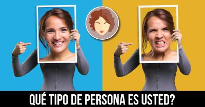 Qué tipo de persona es usted?