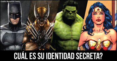 Cuál es su identidad secreta?