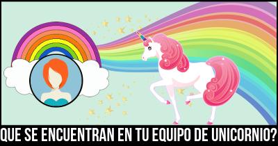 Que se encuentran en tu equipo de unicornio?