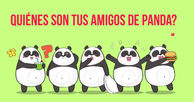 Quiénes son tus amigos de Panda?