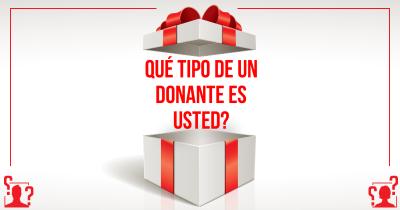 Qué tipo de un donante es usted?