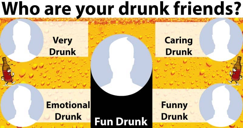 Who are your drunk friends?