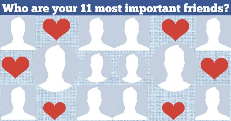 Who are the eleven most important people in your life?