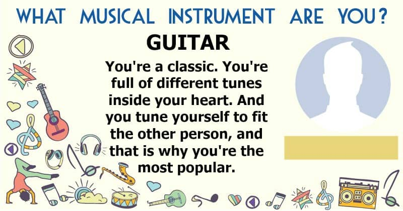 Which musical instrument are you?