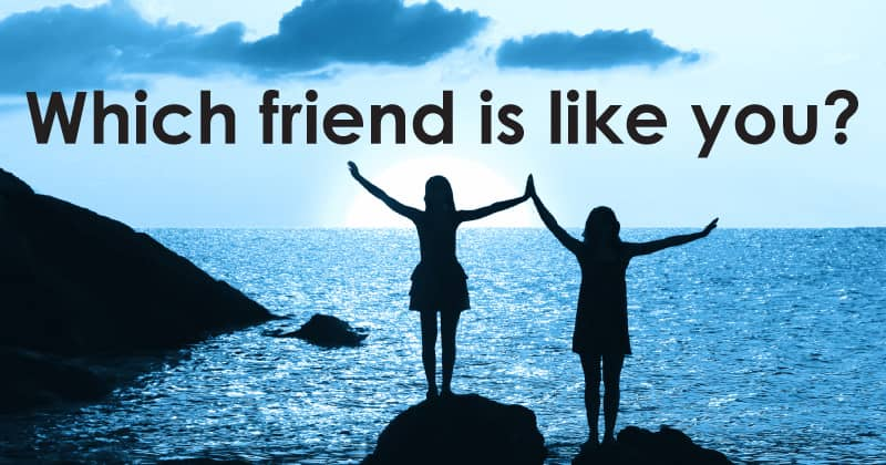 Which friend is like you?