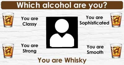 Which alcohol are you?
