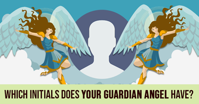 Which Initials Does Your Guardian Angel Have?
