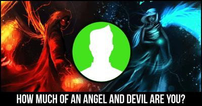 How much of an Angel and Devil are you?