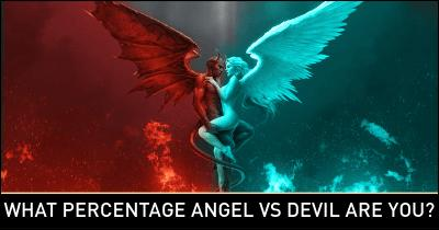 What Percentage Angel vs Devil are you?