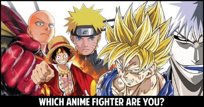 Which Anime Fighter are you?