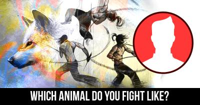 Which Animal do you fight like?