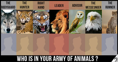 Who is in your Army of Animals?
