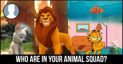 Who are in your Animal Squad?