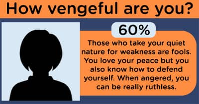 How vengeful are you?