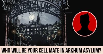Who will be your cell mate in Arkhum Asylum?