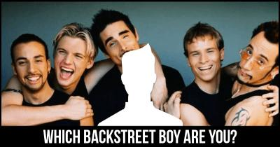 Which Backstreet Boy are you?