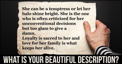 What is Your Beautiful Description?