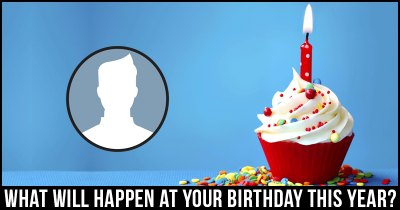 What will happen on your Birthday this year?
