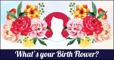 What's your Birth Flower?