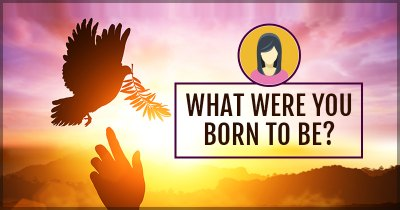 What were you born to be?