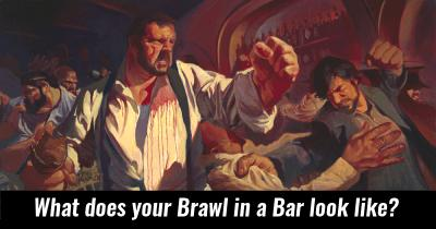 What does your Brawl in a Bar look like?