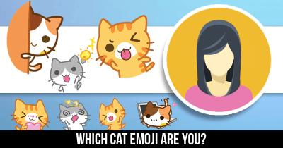 Which Cat Emoji are you?