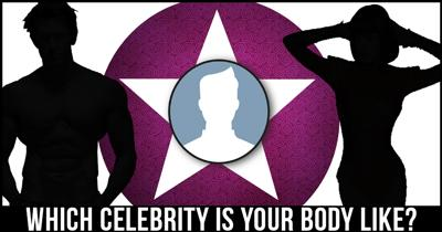 Which Celebrity is your Body Like?