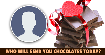 Who Will send You Chocolates Today?