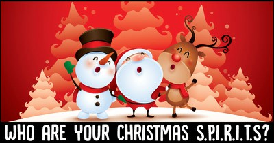 Who are your Christmas S.P.I.R.I.T.S?