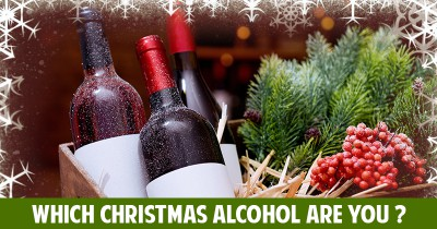 Which Christmas Alcohol are you ?