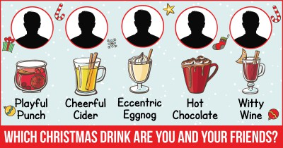 Which Christmas drink are You and your Friends?