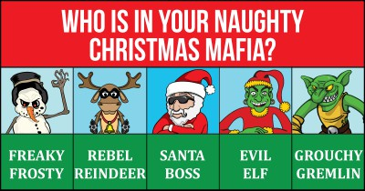 Who is in your Naughty Christmas Mafia?