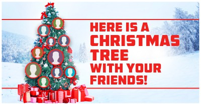 Here is a Christmas Tree With Your Friends!