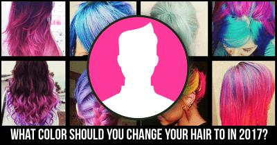 What Color should you change your Hair to in 2017?