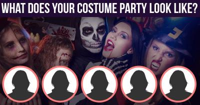 What does Your Costume Party look like?