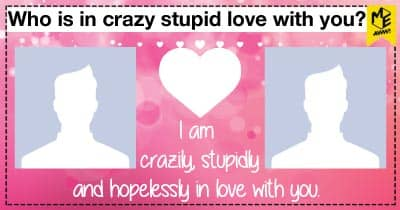 Who is in crazy stupid love with you?