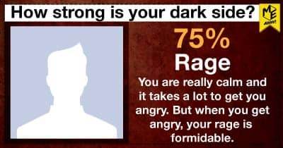 How strong is your dark side?