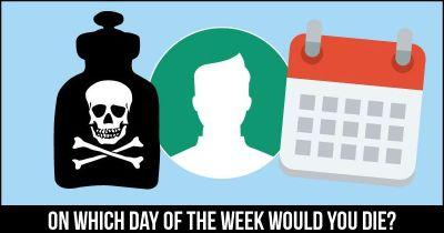 On which Day of the Week would you Die?