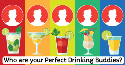 Who are your Perfect Drinking Buddies.