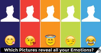 Which pictures reveal all your emotions?