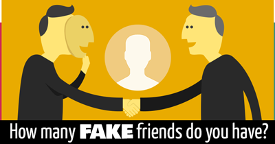 How many FAKE friends do you have?